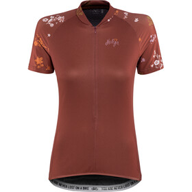 Maloja ViagravaM. Shortsleeve Bike Jersey Dam maroon